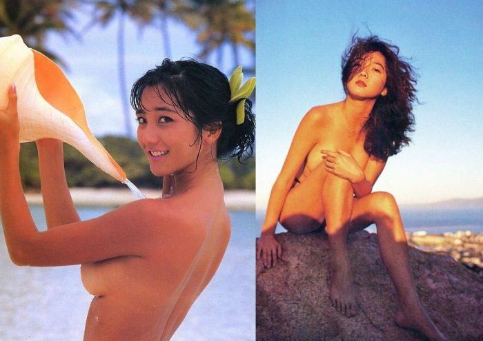 向井亜紀 グラマラスなヌード&水着のエロ画像86枚!