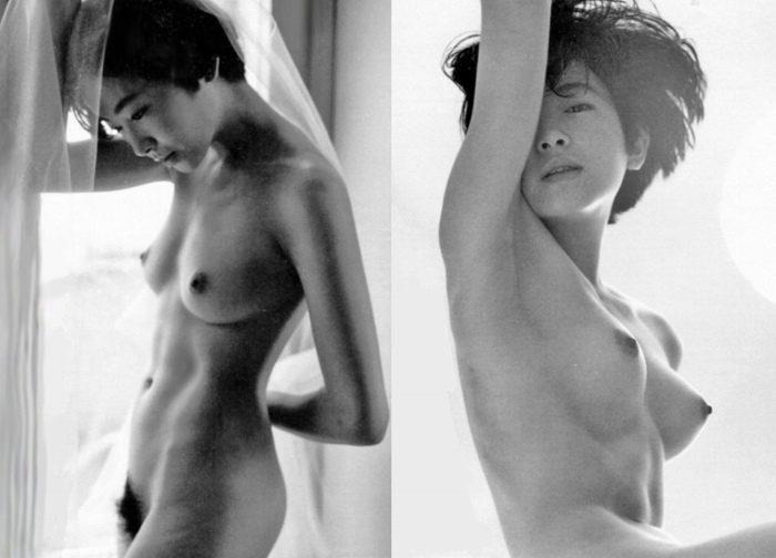 荻野目慶子 剛毛で美乳なヘアヌードのエロ画像82枚!