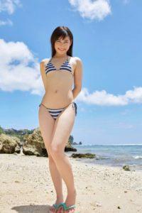 江藤彩也香 元HKT48娘のビキニや競泳水着のスレンダー水着画像100枚!