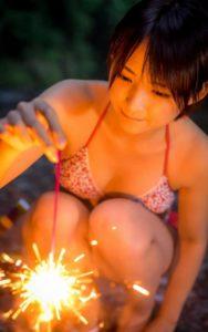 鈴木咲 デジタル写真集「咲とさとがえり」の水着&浴衣のエロ画像43枚!