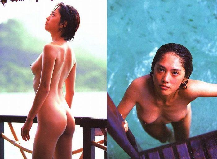原千晶 若い頃の全裸ばっちりヘアヌードエロ画像110枚!