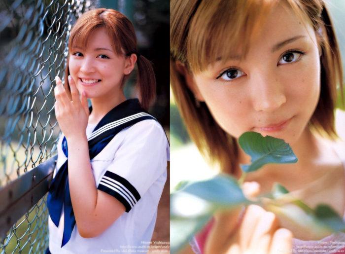 吉澤ひとみ 若い頃の美少女すぎる写真集のエロ画像82枚!