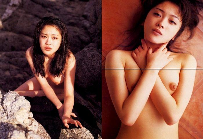 有沢妃呂子 おっぱい丸出しの写真集ヌードエロ画像70枚!