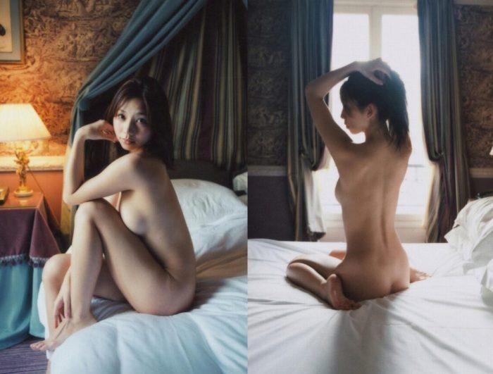 小泉麻耶 月刊写真集のヌード&ランジェリーエロ画像117枚!