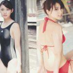 武井咲 美人すぎるの水着&制服エロ画像117枚(競泳水着付き)