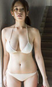 筧美和子 むっちり巨乳の水着グラビアエロ画像135枚!