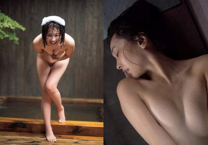 山崎真実 脱ぎ職人のヌードエロ画像まとめ177枚!(乳首あり)