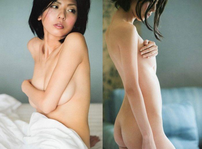 宮地真緒 写真集ヌード画像や濡れ場おっぱいのエロ画像120枚!
