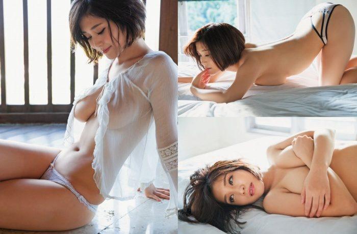 高橋凛 元橘花凛さんの水着&セミヌードグラビアエロ画像145枚!