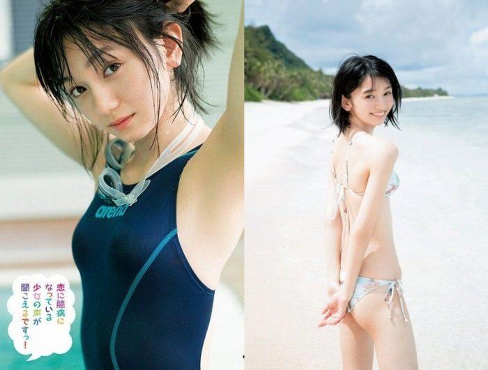 熊澤風花 17歳アイドルの水着&グラビアのエロ画像120枚!
