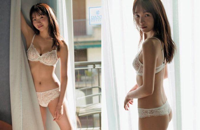 傳谷英里香 ハーフ姉ちゃんの水着グラビアエロ画像193枚!