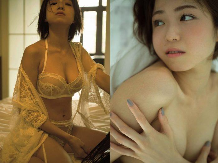 中村静香 セミヌード&Tバックランジェリーのエロ画像158枚!