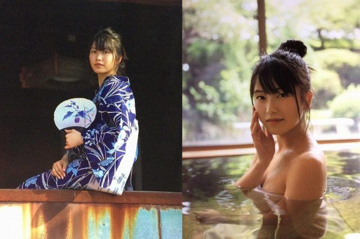 横山由依 和美人姉ちゃんの水着&浴衣など写真集エロ画像123枚!