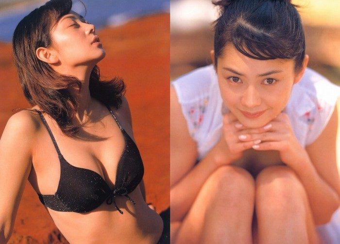 伊東美咲 若かりし頃の水着&生脚のエロ画像170枚!エルメスたんっ
