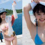 安藤咲桜 元つりビット姉ちゃんの水着エロ画像138枚!