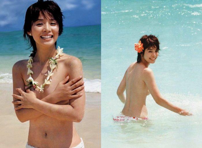 石田ゆり子 女優姉さんの水着&セミヌードの濡れ場エロ画像174枚!
