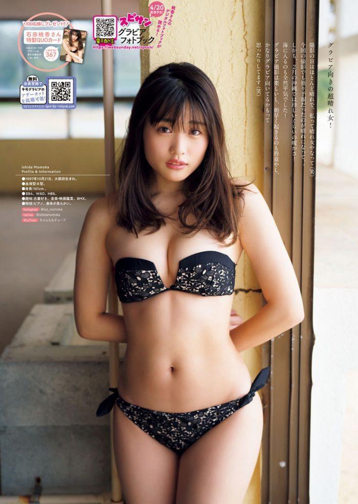 石田桃香 画像010
