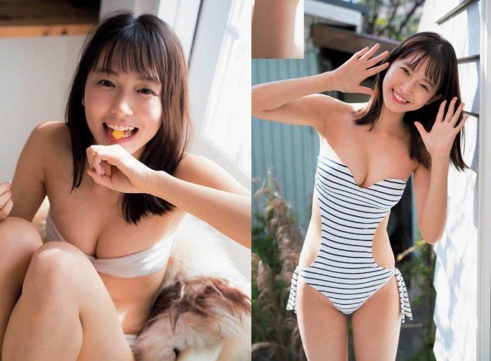 志田音々 スレンダー美女の水着&生脚エロ画像113枚!