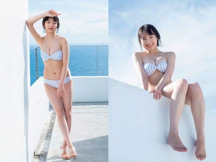 坂口風詩 会津の原石姉ちゃんの水着グラビアエロ画像282枚!