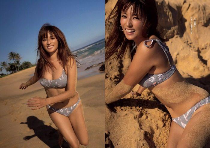 深田恭子 水着とTバックがエロいグラビア画像210枚!