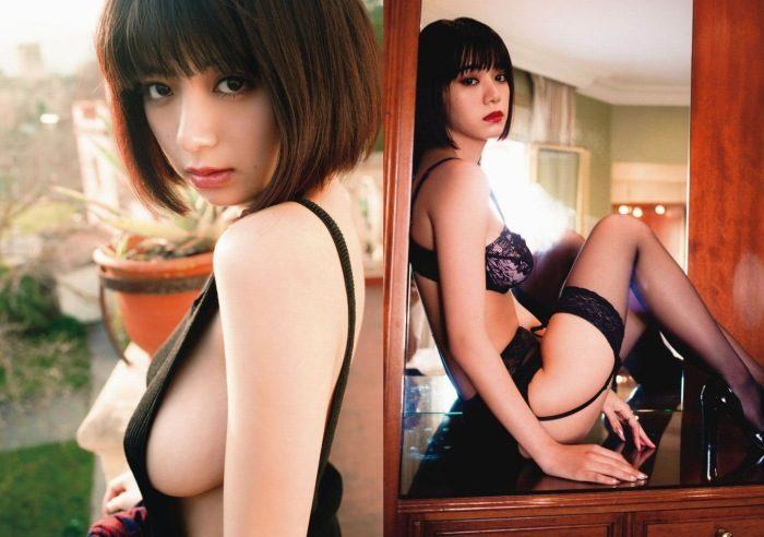 池田エライザ 写真集の下着&ランジェリーエロ画像145枚!