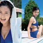 小島瑠璃子 巨乳姉ちゃんの水着グラビアエロ画像220枚!