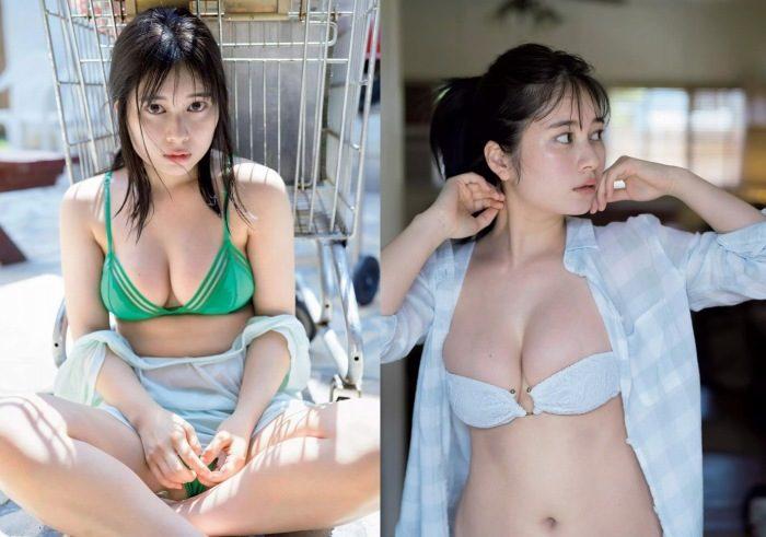 大久保桜子 清楚で巨乳な水着&ランジェリーエロ画像180枚!