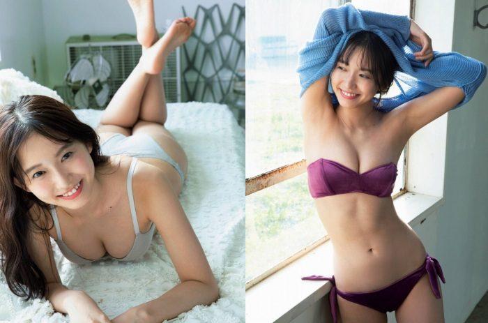 志田音々 スレンダー美女の水着&生脚エロ画像190枚!