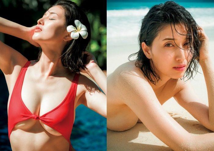 橋本マナミ Gカップの水着&セミヌードエロ画像220枚!
