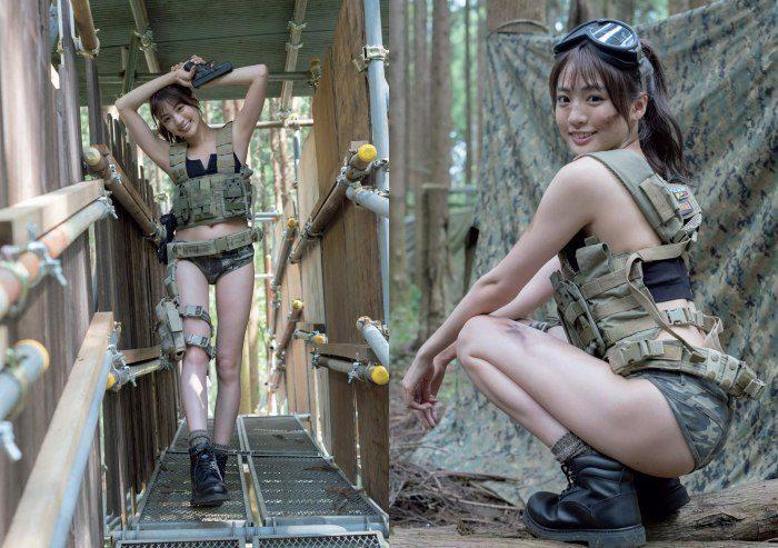 志田友美 美脚でスタイル抜群な水着グラビアエロ画像384枚!