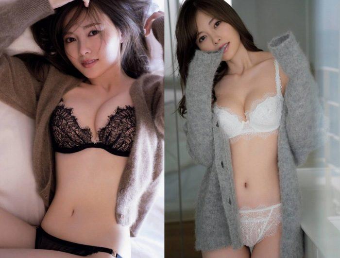 白石麻衣 美しすぎる着衣&水着の最新グラビアエロ画像407枚!