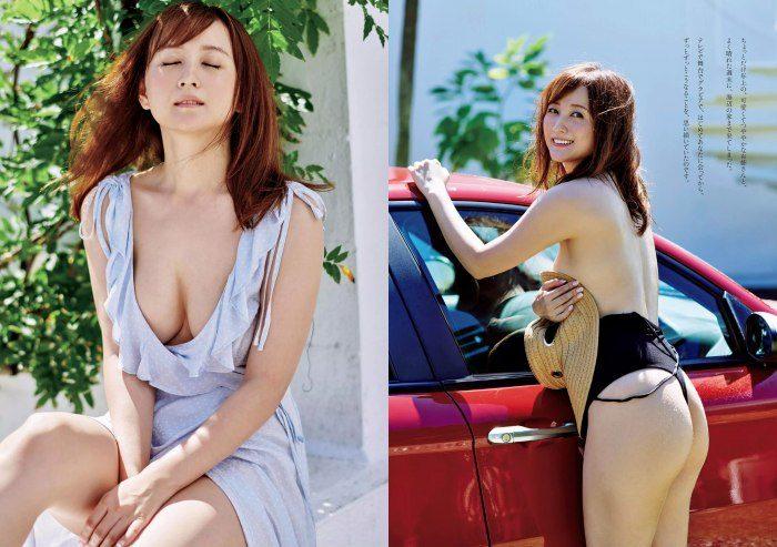小松彩夏 スタイル抜群な水着&セミヌードエロ画像180枚!