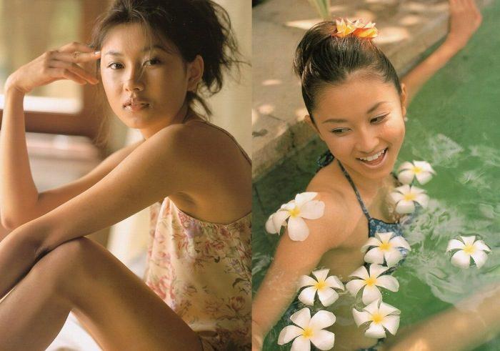 菊川怜 若い頃の水着&ランジェリーのエロ画像150枚!