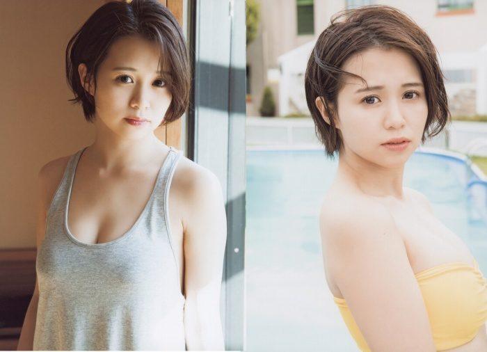 高木紗友希 豊満おっぱいの水着&タンクトップエロ画像106枚!