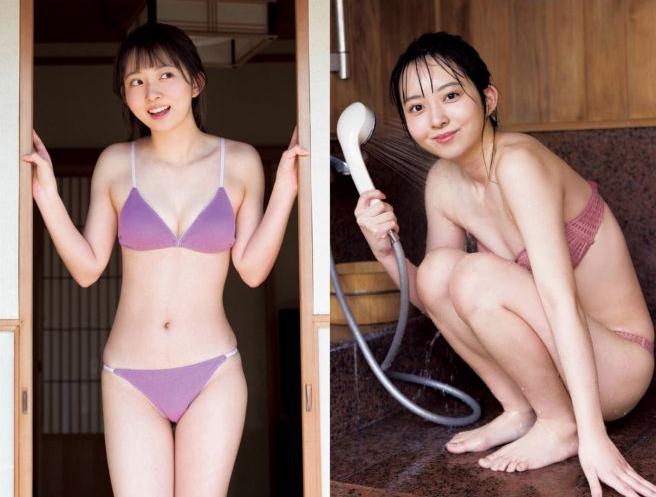 塚田百々花 激かわでふわふわな水着グラビア画像112枚!