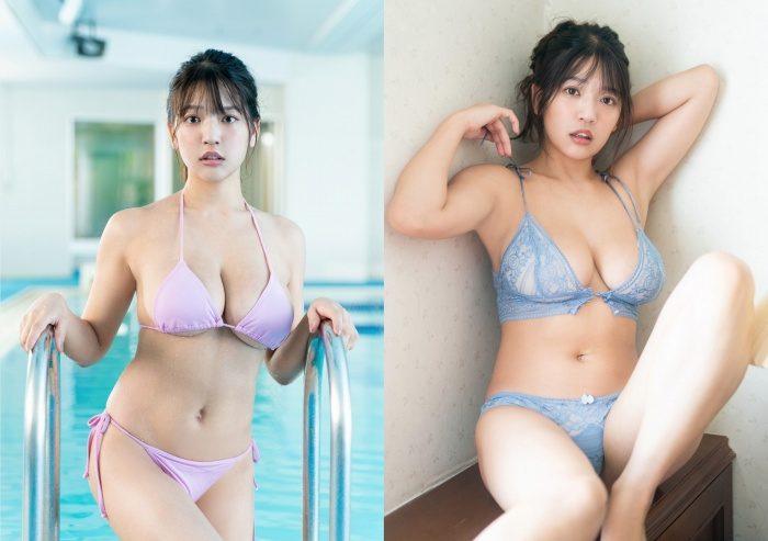 藤乃あおい Iカップおっぱいの水着グラビアのエロ画像138枚!