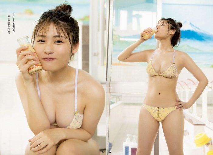 石田桃香 誘うカラダの水着&下着のグラビア画像591枚!