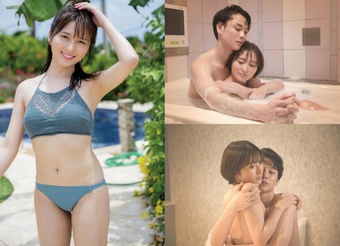 大島涼花 濡れ場ヌード&水着グラビアエロ画像92枚!