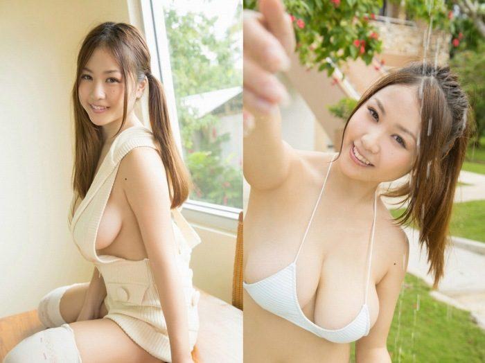 西田麻衣 爆乳Iカップの水着グラビアエロ画像254枚!